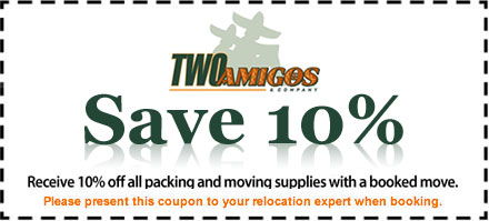 10% Off Packing and Moving Supplies